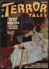 Terror Tales, 1935 November.     Pulp