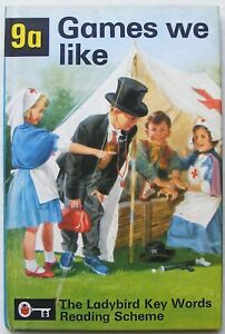 Vintage Ladybird Book – 9a Games to Like – Key Words–Peter & Jane–Very Good/Fine