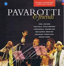 PAVAROTTI & friends LP Sting Zucchero Dalla Oldfield Neville.. DECCA rare SEALED