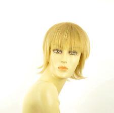 Perruque femme courte blond clair doré NINA LG26