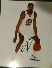 Kevin Durant Golden State Warriors Autographed 16x20 Photo NBA Champ Finals MVP