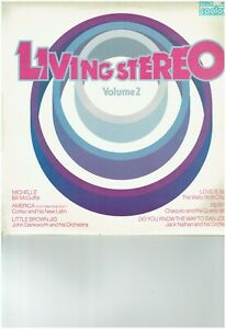 LIVING IN STEREO VOL 2 LP ALBUM SONGS INCLUDE MICHELLE LOVE IS BLUE AMERICA