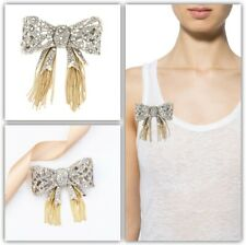 Alexis Bittar Mosaic Lace Bow Brooch Pin Gift