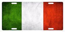 ITALY Custom License Plate ITALIAN ITALIA Emblem DIRTY Version