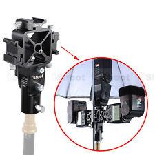 iShoot Blitzschiene -3 Blitzadapter für Durchlichtschirm Softbox Lampenstativ