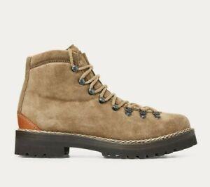$1,750 Ralph Lauren Purple Label Fidel Leather Suede Lace Chukka Boots Boot NIB