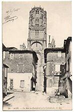 CPA 81 - ALBI (Tarn) - 59. La rue du Castelviel et la Cathédrale - LL