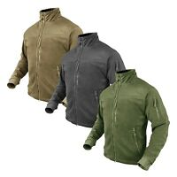 Condor 601 ALPHA Polyester Mesh Lined Micro Fleece Pocketed Winter Jacket Coat
