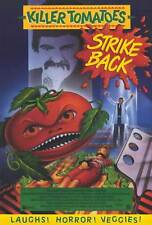 KILLER TOMATOES STRIKE BACK! Movie POSTER 27x40 Debi Fares Rick Rockwell J.