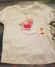 gymboree birthday cupcake kitten shirt