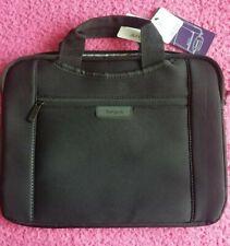 """Targus Slipskin Laptop Bag NWT 14"""" Hideaway Handles Black Carrying Case Sleeve"""