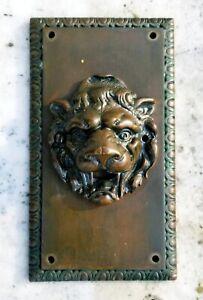 Bronze Fountain Spitter Plate