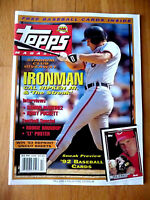 TOPPS MAGAZINE FALL 1991 CAL RIPKEN JR