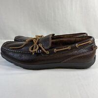 L.L.  BEAN Grand Lake Leather Moc Slip On Brown Men's Size 11.5M.