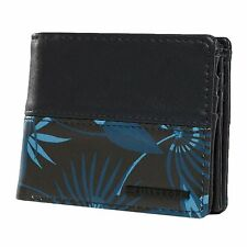 Cartera De Hombre BILLABONG. Nueva FIFTY 50 moneda de tarjeta azul de imitación de cuero cartera Nota 8S 08 2