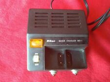 NIKON MH -1 QUICK CHARGER FOR MN-1 W/2 BATTERY UNIT NI-CD MN-1
