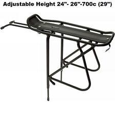 "Axiom Journey Tubular Rear Mount Bike Rack Adjustable 24""-26,700C & 29"" Road MTB"