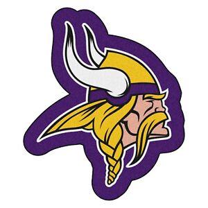 Fanmats NFL Minnesota Vikings Mascot Mat Area Rug Bath Mat Delivery 2-4 Days