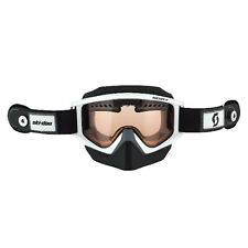 Ski-Doo New Oem White Holeshot Speed Strap Goggles, 4484930001