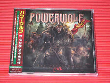 POWERWOLF  The Metal Mass Live  JAPAN CD