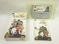YS III 3 Wanderers Form Ys Item Ref/bcc Super Famicom Nintendo Japan Game sf