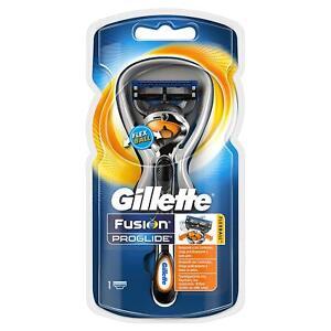 Gillette Fusion ProGlide Mens Manual Shaving Razor, Precision Blades, Flexball