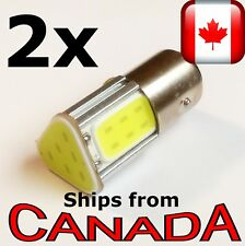 TWO 1157 - BAY15D COOL WHITE COB LED Bulbs