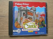 FISHER PRICE - CASTLE - CHILDRENS CD ROM - READ & PLAY AGES 4-8