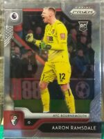 AARON RAMSDALE AFC BOURNEMOUTH 2020 CHRONICLES SOCCER PANINI PRIZM ROOKIE CARD!!