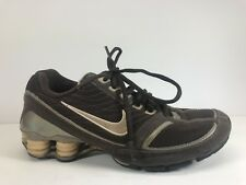 Nike Shox Pursuit Brown Women's Sz 8.5 Rare Athletic Running Shoes