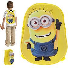 Rucksack MINION 3D Kinderrucksack Kindergartenrucksack Minions 20409-0900 GELB