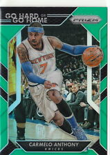 16/17 2016/17 Prizm Green Go Hard or Go Home Prizms Carmelo Anthony #16 Knicks