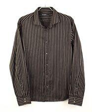 TIGER OF SWEDEN Men Shirt CZ314 Striped Formal Casual Size 48 15