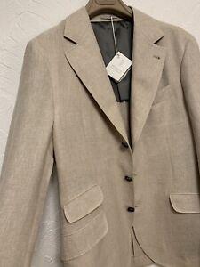 BRUNELLO CUCINELLI New season Elegant double-pocket linen  jacket blazer