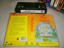 *PLAY SCHOOL - ALL TOGETHER SHOW : AT THE ZOO* ABC For Kids Australian Issue Vhs