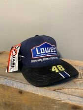 RARE VINTAGE Jimmie Johnson #48 Hat Cap NASCAR Lowes Hendrick Motorsports