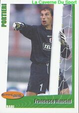 96 FRANCESCO MANCINI ITALIA AS.BARI STICKER SUPER CALCIO 2001 PANINI