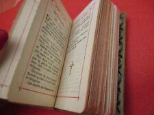 ANCIEN LIVRE- PETIT PAROISSIEN- (missel), minuscule -Edité en Belgique 25.8.1926