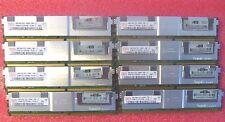 NEW 32GB 8@4GB RAM for Dell Precision workstation 490 690,R5400,T5400,T7400 1 Y