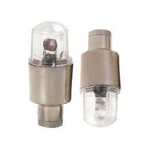 Universal MULTI-COLOR LED Wheel Tyre Tire Air Valve Stem Cap Light Easy to Use