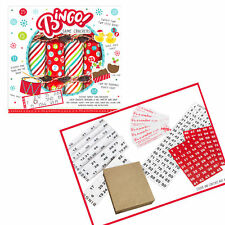 6 Pack Novelty Game Christmas Crackers - Bingo