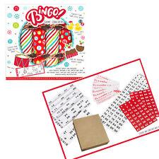 6 Pack Novelty Game Christmas Crackers - Bingo