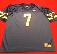 BYU Cougars Vintage Nike Football Jersey 1998 Season #7 Taysom Hill RARE Men's L