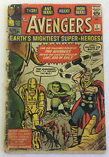1963 Marvel AVENGERS #1 ~ classic silver age key