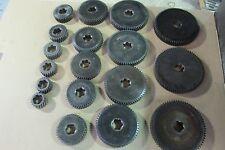 Brown & Sharpe screw machine set of spindle gears
