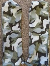 SPANDOFLAGE FACEMASKS, FACE MASK,HEADNET,HEAD NET CAMO, PAIR, CAMOFLAGE, ADULT