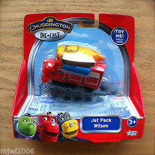 CHUGGINGTON Diecast JET PACK WILSON Lights and Sounds Learning Curve TOMY train