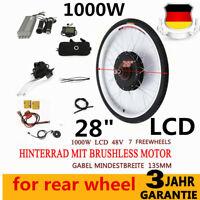 "28"" 48V LCD 1000W e-bike conversion kit Electric Bike rear Motor for rear wheel"