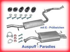 Abgasanlage Auspuff Volvo S40 & V40 2.0i 16V Typ V Limousine & Kombi + Kit