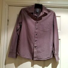 """GAP Cotton Stripy Mens Fitted Shirt Small 14 -14.5"""" collar 40"""" Chest"""